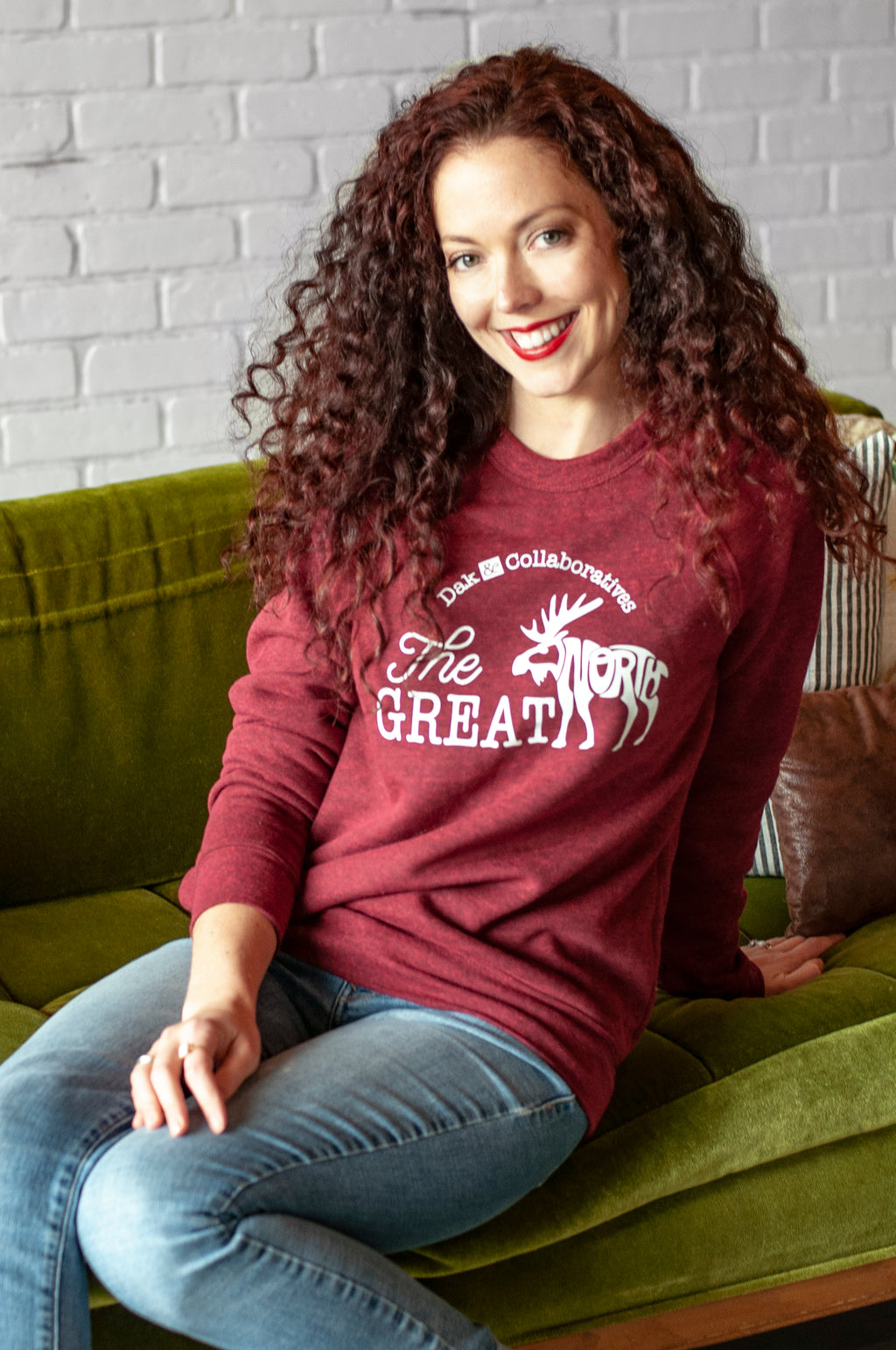The Great North | crewneck fleece