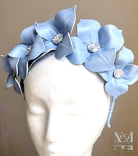 Lily - Blue Flower Crown - MM241