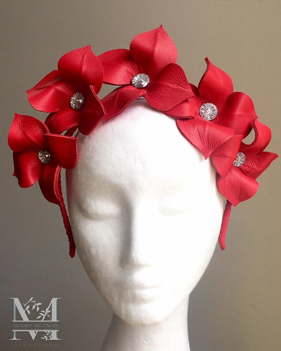 Lily - Flower Crown Red - MM257