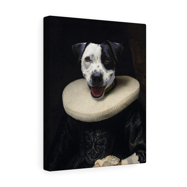 """The Queen"" - Female Pet Vignettes Canvas Gallery Wraps"