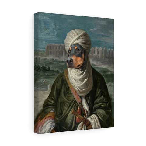 """The Sheik"" - Male Pet Vignettes Canvas Gallery Wraps"