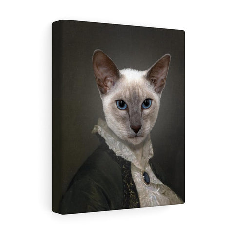 """The Governess"" - Female Pet Vignettes Canvas Gallery Wraps"
