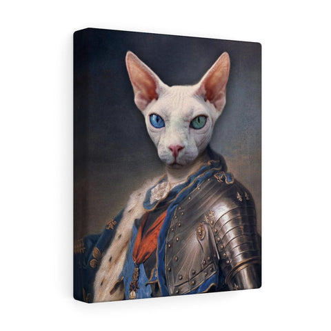 """The Knight"" - Male Pet Vignettes Canvas Gallery Wraps"