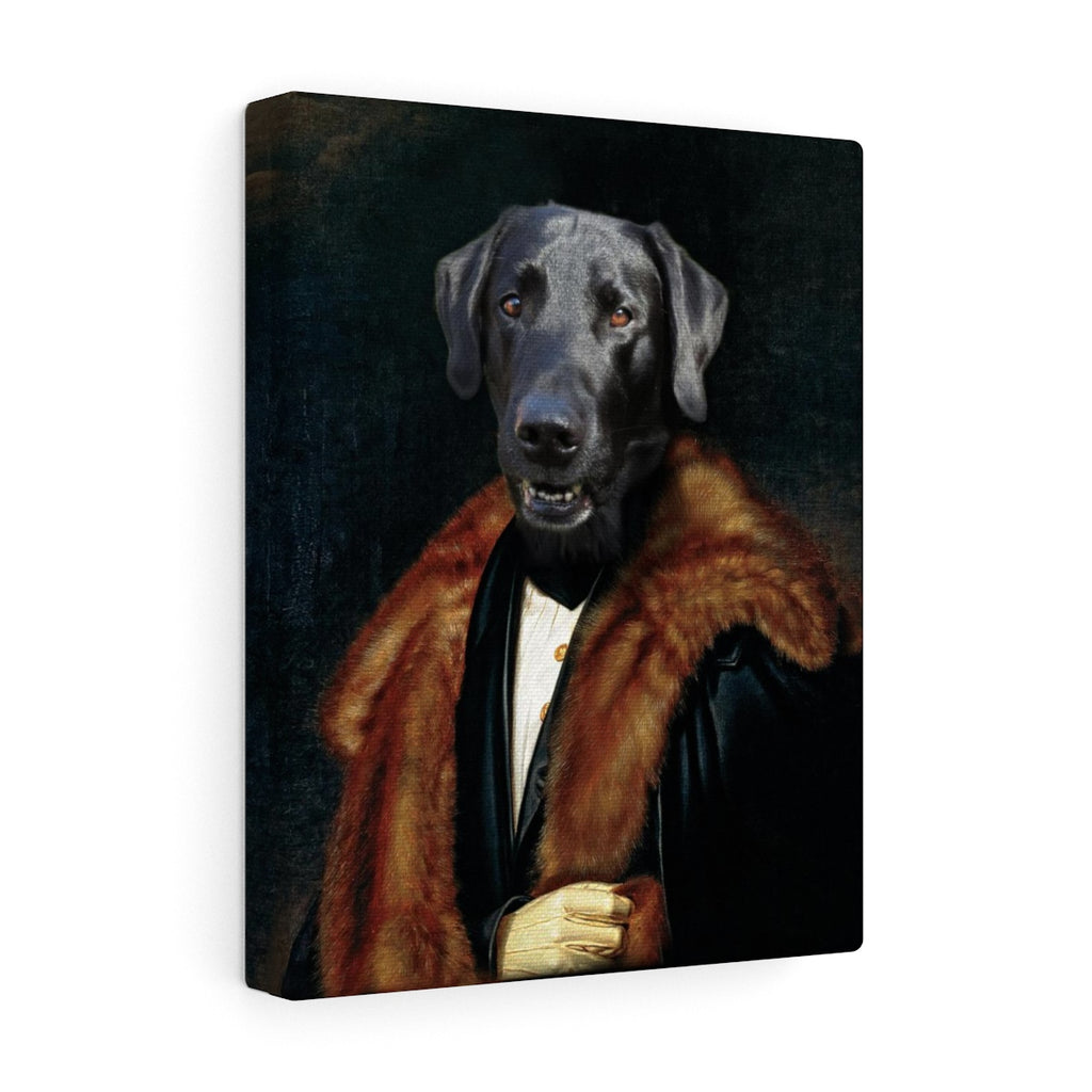 """The Aristocrat"" - Male Pet Vignettes Canvas Gallery Wraps"