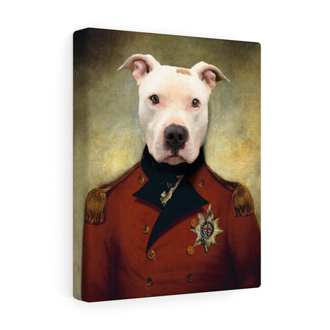 """The General"" - Male Pet Vignettes Canvas Gallery Wraps"
