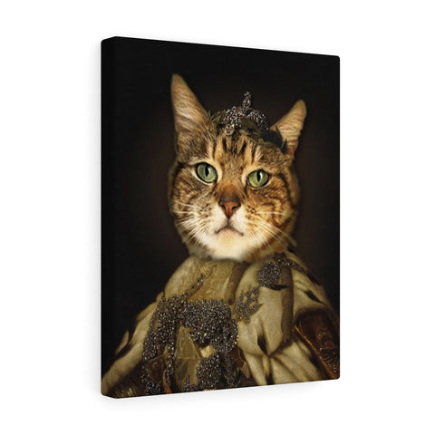 """The Princess"" - Female Pet Vignettes Canvas Gallery Wraps"