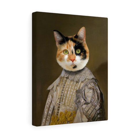 """The Gentleman"" - Male Pet Vignettes Canvas Gallery Wraps"
