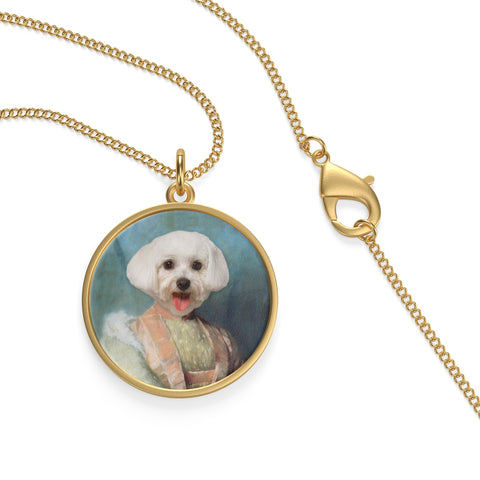 Pet Vignettes - ALL STYLES! Single Loop Necklace