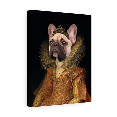 """The Duchess"" - Female Pet Vignettes Canvas Gallery Wraps"