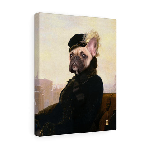 """The Lady"" - Female Pet Vignettes Canvas Gallery Wraps"