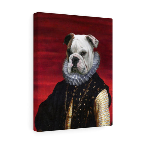 """The Duke"" - Male Pet Vignettes Canvas Gallery Wraps"