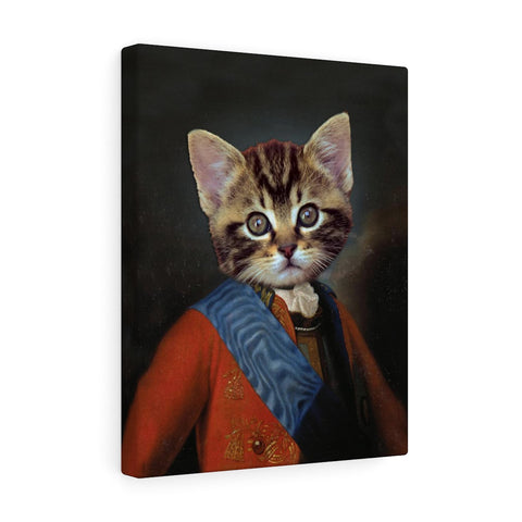 """The Captain"" - Male Pet Vignettes Canvas Gallery Wraps"