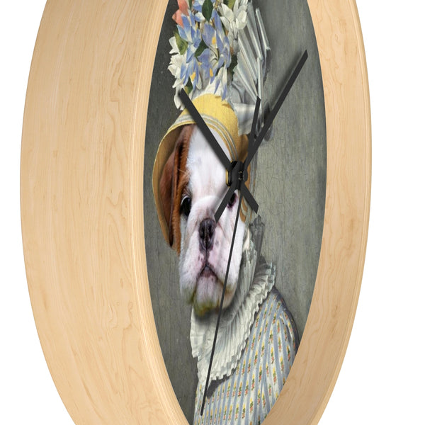 Pet Vignettes -ALL STYLES! Wall clock
