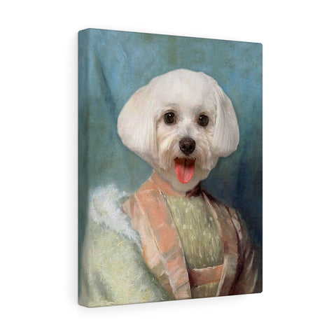 """The Heiress"" - Female Pet Vignettes Canvas Gallery Wraps"
