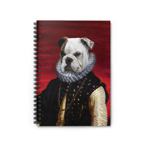Pet Vignettes - ALL STYLES! Spiral Notebook - Ruled Line