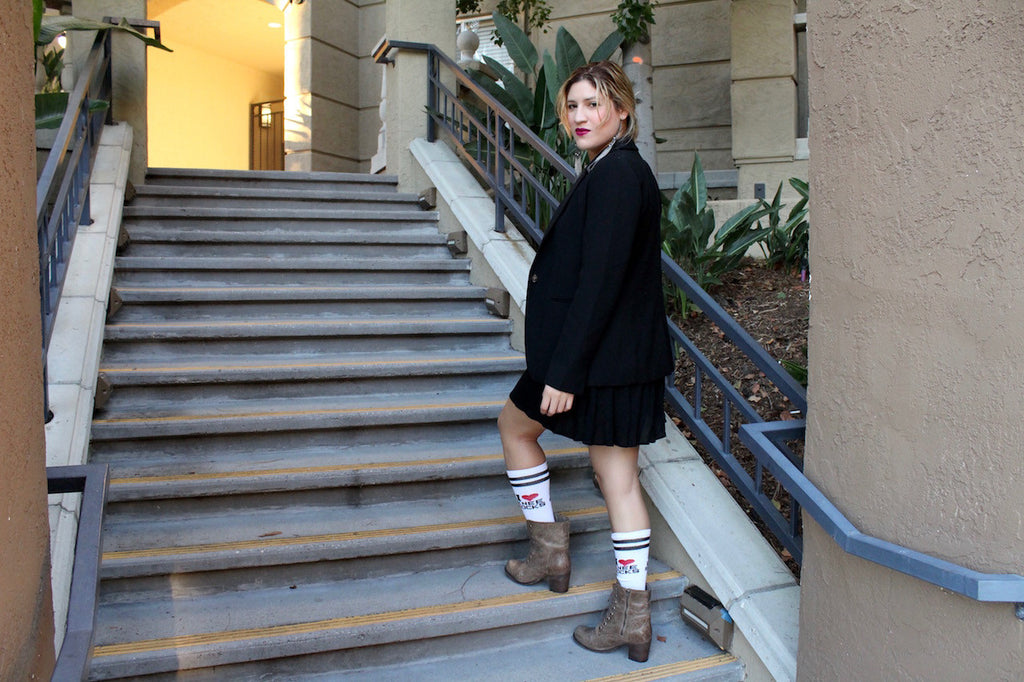 How to rock Knee-High Socks?