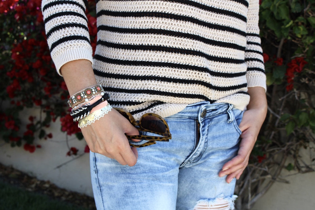 striped sweater | spring favorites | fashion blog