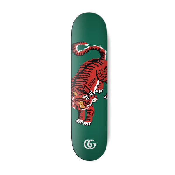 Bengal Green Skateboard