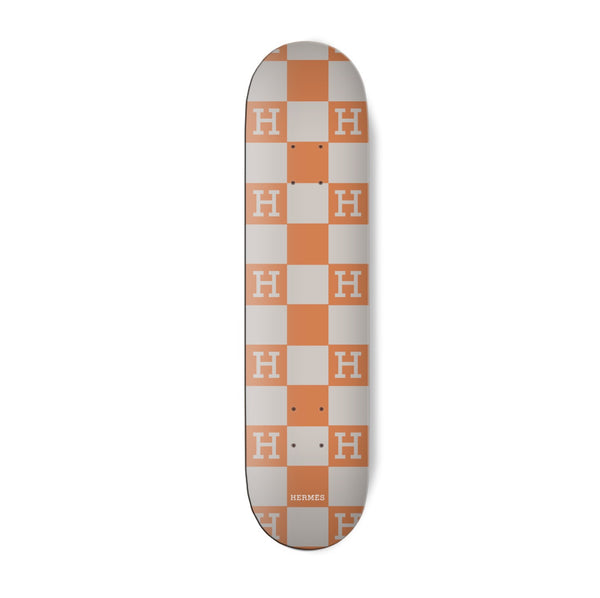 Checkered Skateboard