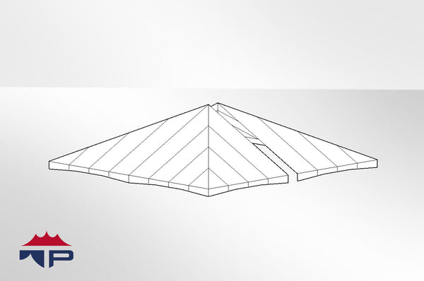 40x40 2pc Jumbotrac® Tent Top UW