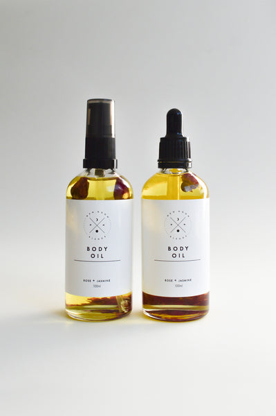 Rose & Jasmine Body Oil