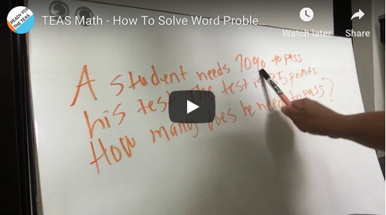 TEAS Math: How to Solve Percentages in WORD Problems