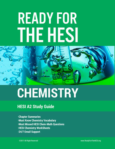 HESI A2 Chemistry E-Study Guide: Download and study right away!