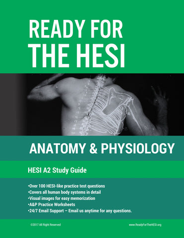 HESI A2 Anatomy and Physiology E-Study Guide: Download and study right away!