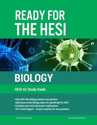 HESI A2 Biology E-Study Guide: Download and study right away!