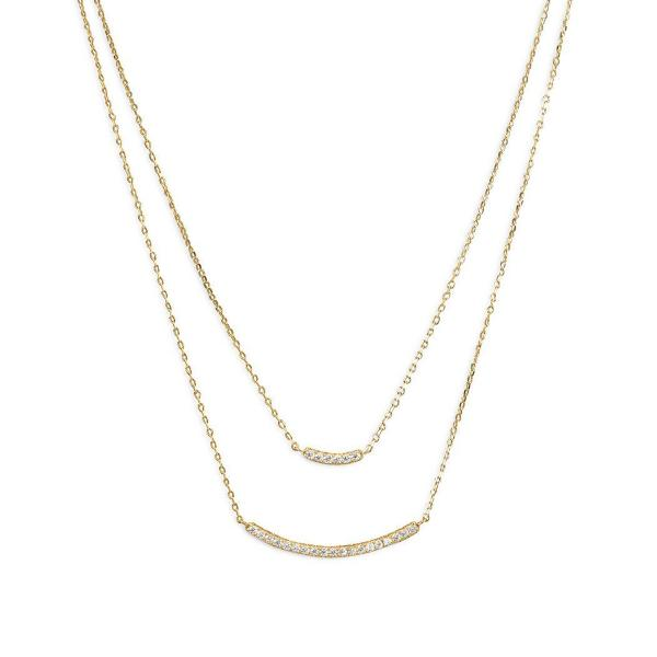 Gold Plated Layered Necklace, Necklaces, [GLITIC], [Personalized_Jewelry], [Vegan_Bags]