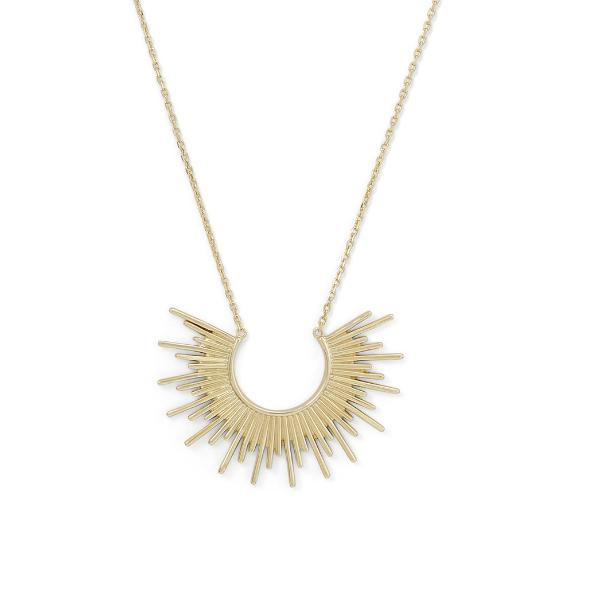 Sunburst Necklace, Necklaces, [GLITIC], [Personalized_Jewelry], [Vegan_Bags]