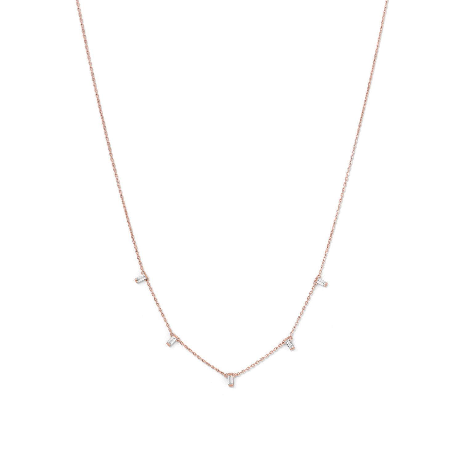 Rose Gold Plated Necklace, Necklaces, [GLITIC], [Personalized_Jewelry], [Vegan_Bags]