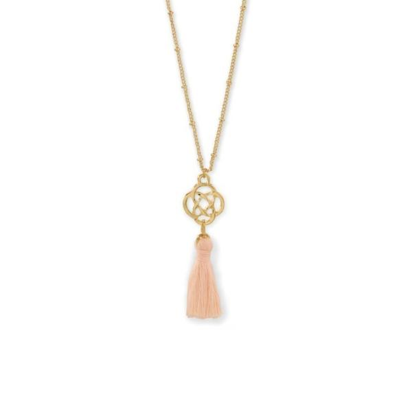 Tassel Charm Necklace, Necklaces, [GLITIC], [Personalized_Jewelry], [Vegan_Bags]