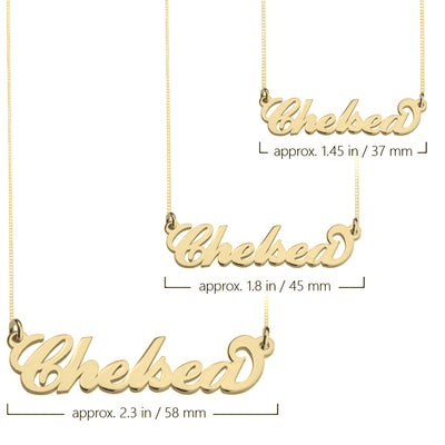 Katie Name Necklace