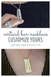 Vertical Bar Necklace-Necklaces-GLITIC