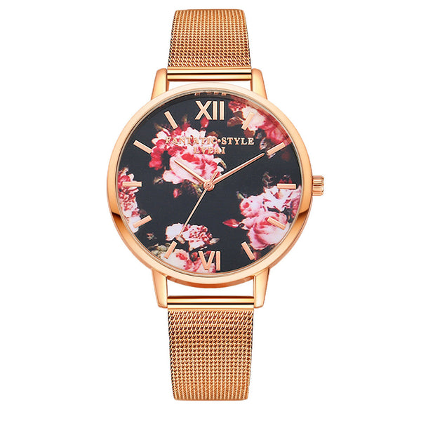 Watches Florence Watch - Rose Gold - GLITIC