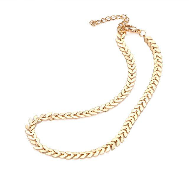 Necklaces Chain Sequin Necklace - GLITIC