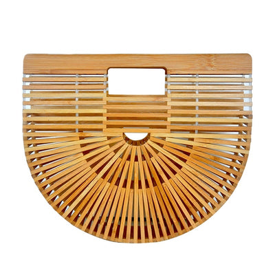 Handbags Adelpha Handwoven Bamboo Handbag - GLITIC