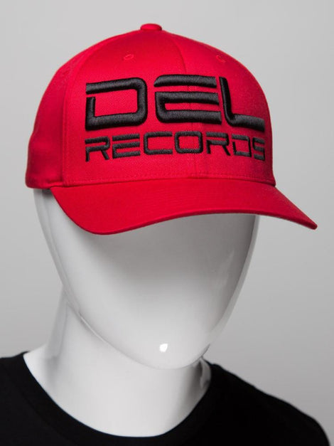 Del Records Bold 3D Flex Fit Hat
