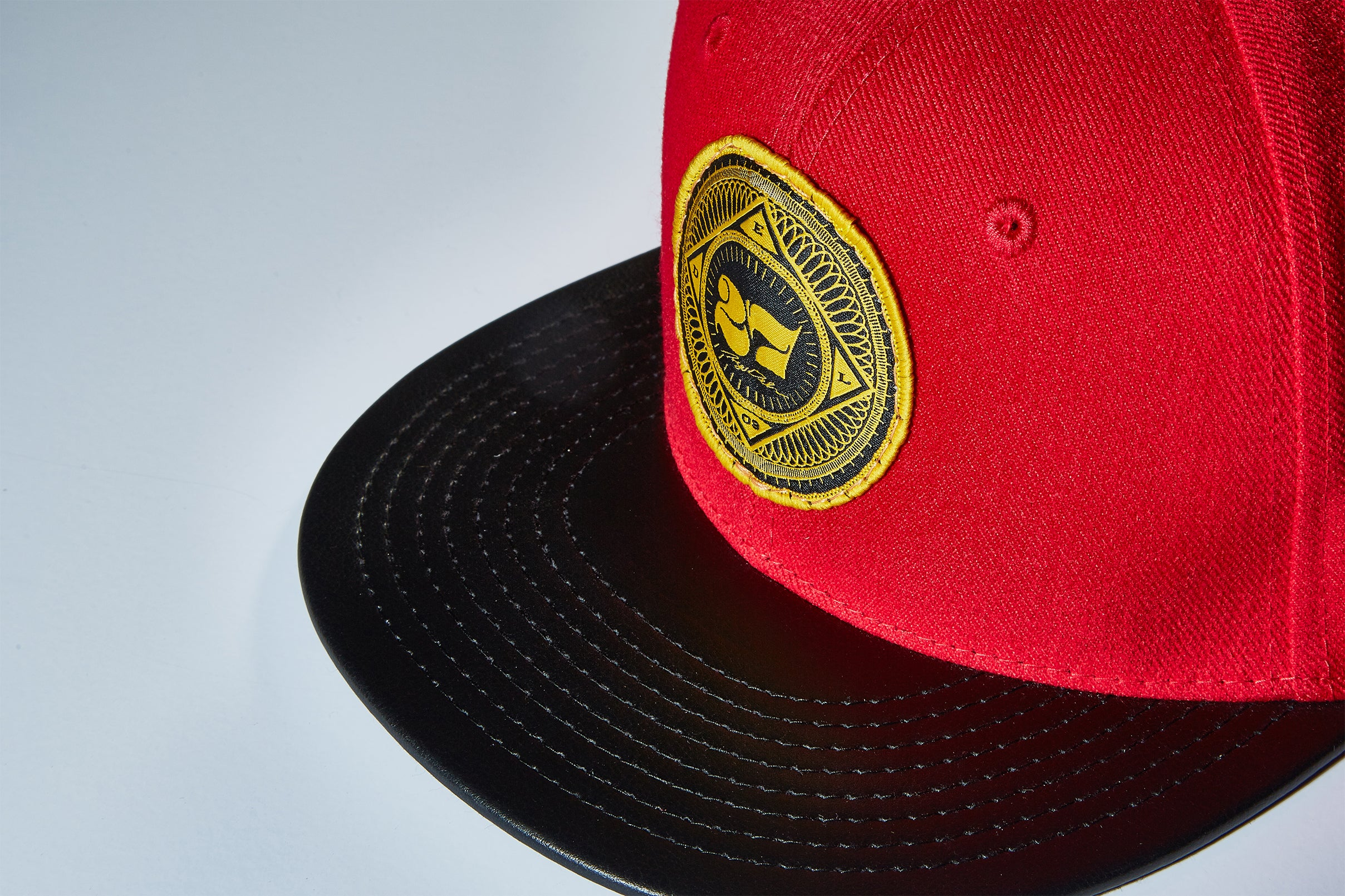 27 Gold Sphere Patch Snapback