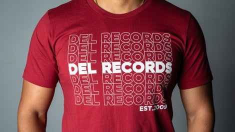 Del Records Thank You Unisex Tee