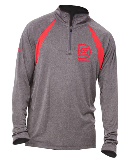 DS Logo 1/4 Zip Fitness Shirt