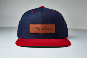 Angel Signature Leather Patch Snap Back