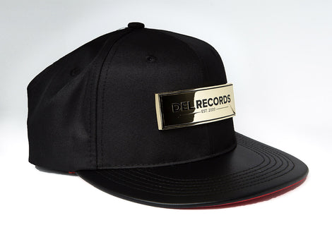 519df9cc4a190 ... Del Records Gold Plaque Snap Back