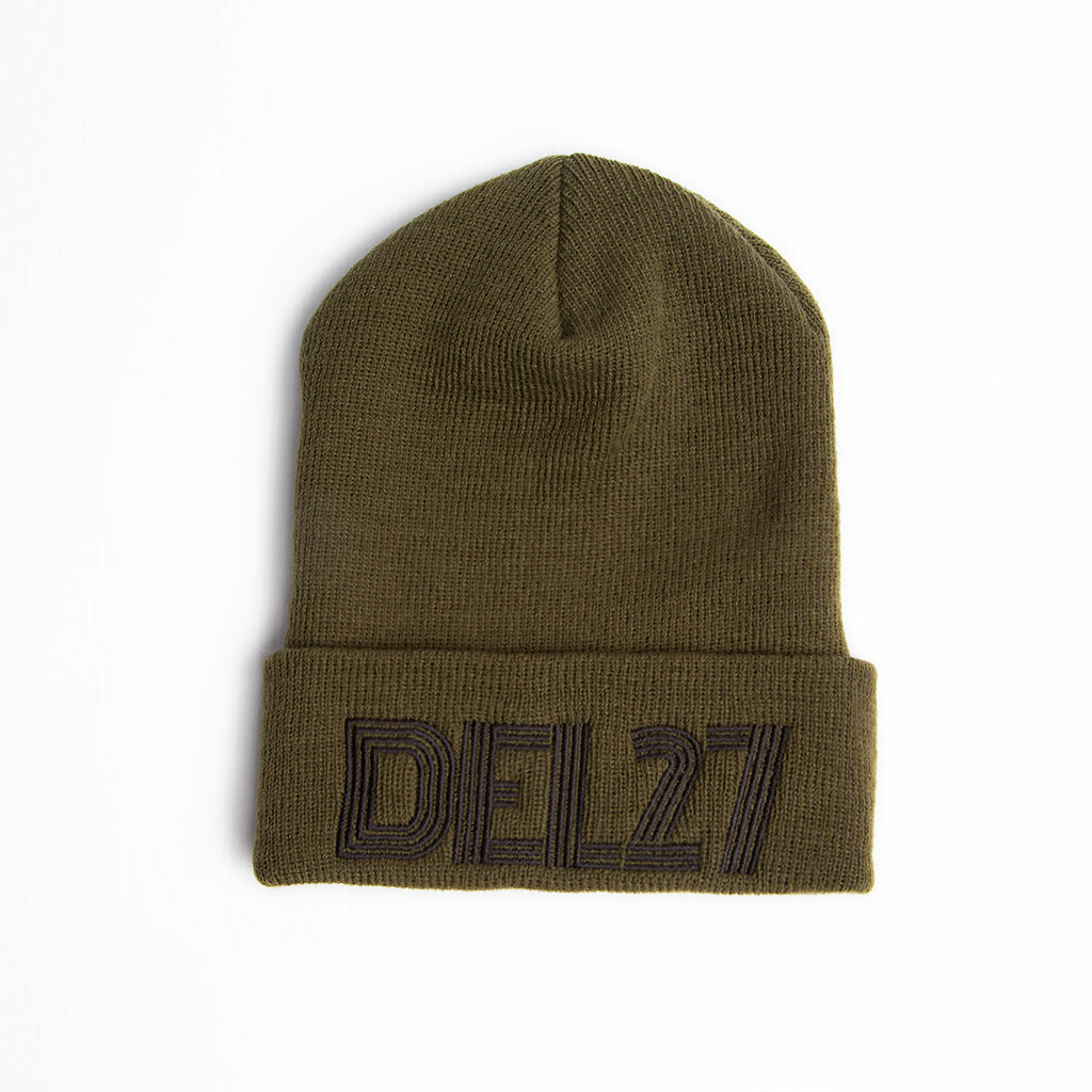 DEL27 Lines Beanie