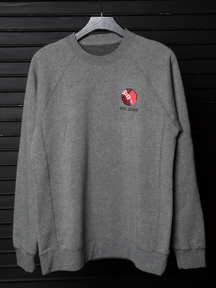 Back Bar Crew-Neck Sweater