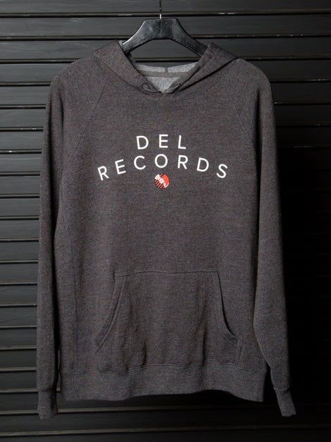 Curved Del Records Hoodie