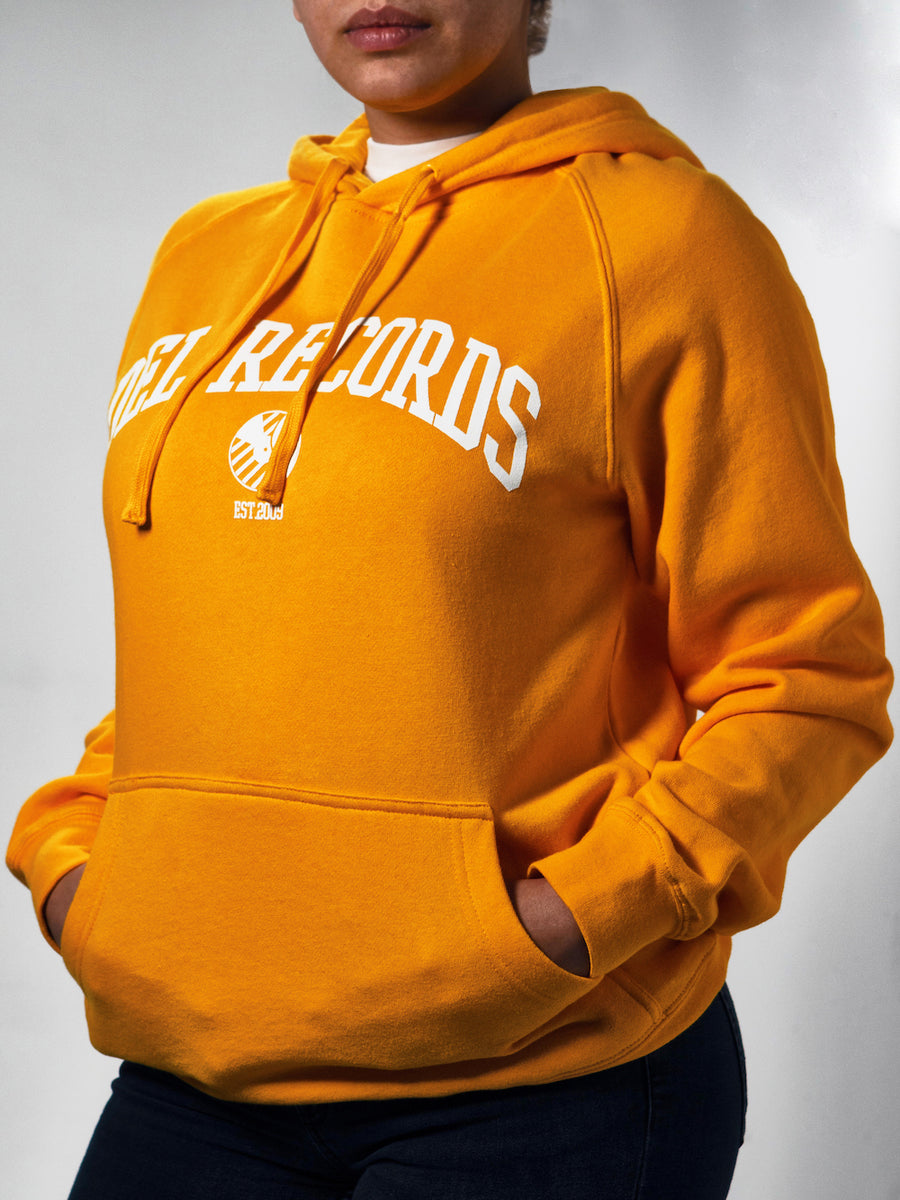 Del Records Pullover Hoodie