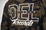 Del Records Camo Coaches Jacket