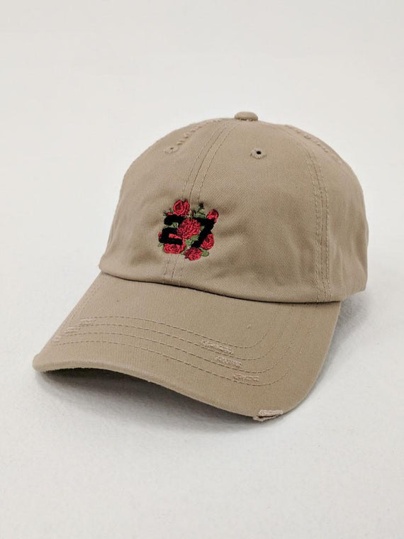 27 Flowers Dad Hat